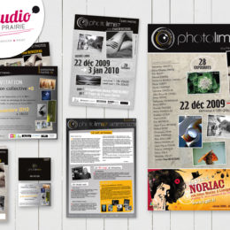 Client : Association Photolim87 // Création : logo, affiche, invitation, mailing, newsletter...